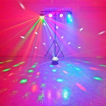 Party Lighting Effects Hire Sunshine Coast - Bronze Package