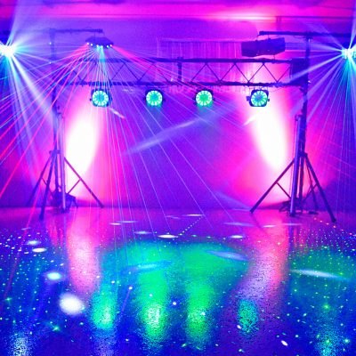 Party Lighting Effects Hire Sunshine Coast - Gold Package