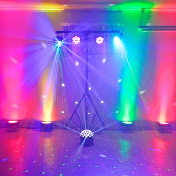Party Lighting Effects Hire Sunshine Coast - Silver Package