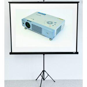 Projector & Pull Up Screen Hire Sunshine Coast