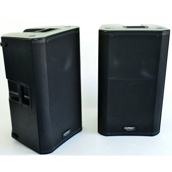 QSC K12s Powered Speaker Hire Sunshine Coast QLD