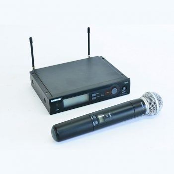 Shure Wireless Microphone Hire Sunshine Coast